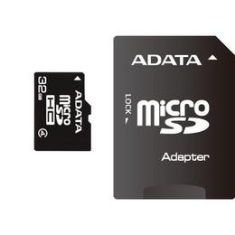 ADATA microSDHC Card Micro SDHC 32GB Class 4 Adapt