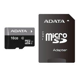 ADATA microSDHC Card Premier UHS-I 16GB Class 10 Adapt