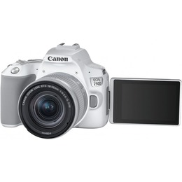 Canon EOS 250D + 18-55mm IS STM valge