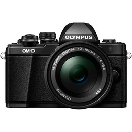 Olympus OM-D E-M10 Mark II DZ + 14-42 mm EZ + 40-150 mm R Black
