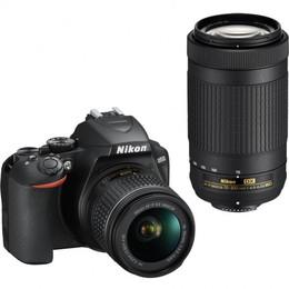 Nikon D3500 + 18-55mm + AF-P + 70-300mm