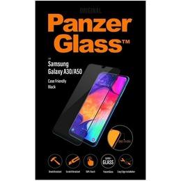 Samsung ekraanikaitseklaas Galaxy A50 SM-A505, A30 PanzerGlass, must