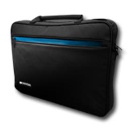 "Canyon Laptop Case  Top Loader for up to 15.6"" laptop, Black/Blue"