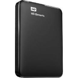 """Western Digital  HDD USB3 1TB EXT. 2.5""""/Black WDBUZG0010BBK-WESN WDC"""