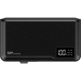 Silicon Power S103 Power Bank 10000mAH, microUSB, USB, LCD, Black