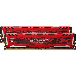 Crucial DDR4 Crucial Ballistix Sports LT red 16GB (2x8GB), 3000MHz CL15