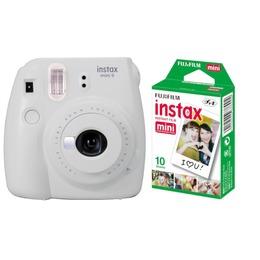 Fujifilm  Instax Mini 9 + Instax mini glossy (2x10) Smoky White