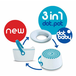 Blue DotBaby Dot Pot 3in1