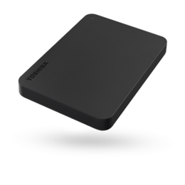 Toshiba  Canvio Basics HDTB410EK3AA 2.5 1TB USB 3.0, Black