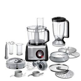 Bosch MC812M865 MultiTalent 8 kitchen machine black-stainless steel