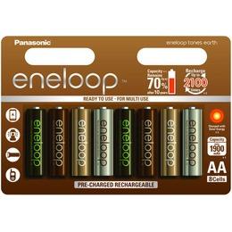Panasonic Aku eneloop AA 1900 8UE Earth (BK-3MCCE/8UE)