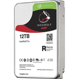Seagate IronWolf Pro NAS HDD +Rescue 12TB, SATA 6Gb/s