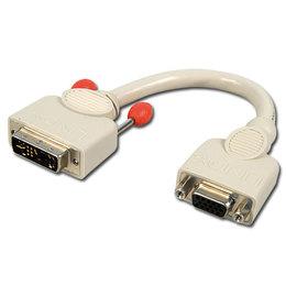 Lindy Üleminek DVI-A (M) - VGA (F) 0.2m