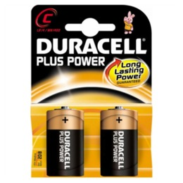 DURACELL  Plus Power MN1400 C (LR14), 2-pack