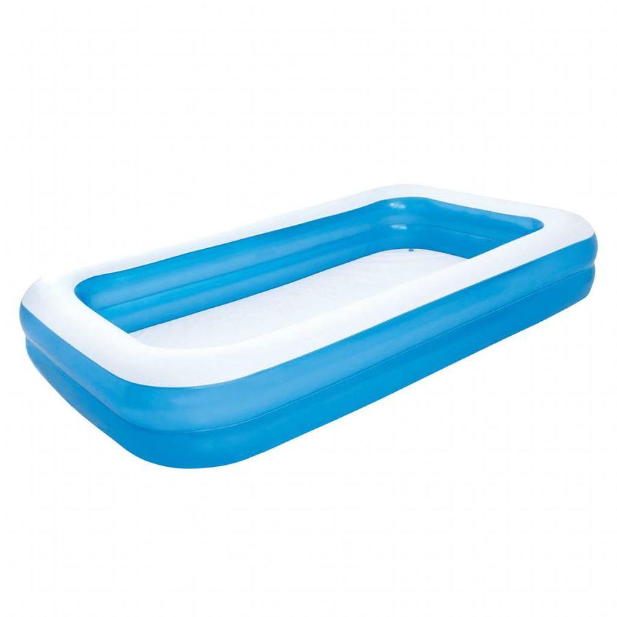03793411e5d Bestway täispuhutav kandiline bassein 305 x 183 x 46 cm sinine/valge