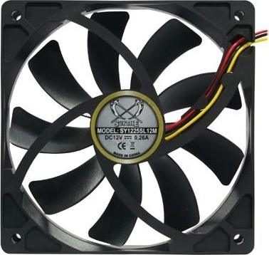 9347caeb4a7 Scythe Case Fan Slip Stream SY1225SL12LM-P cooler, PWM - 120mm