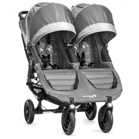 e2030268569 Baby Jogger jalutuskäru City Mini Double GT Steel Gray