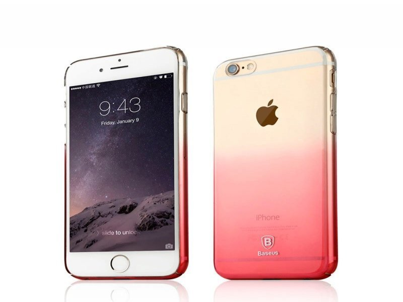 74fb0bbae91 Baseus kaitseümbris Illusion Case Impact Silicone Case for Apple iPhone 6 /  6S Plus Transparent - Pink
