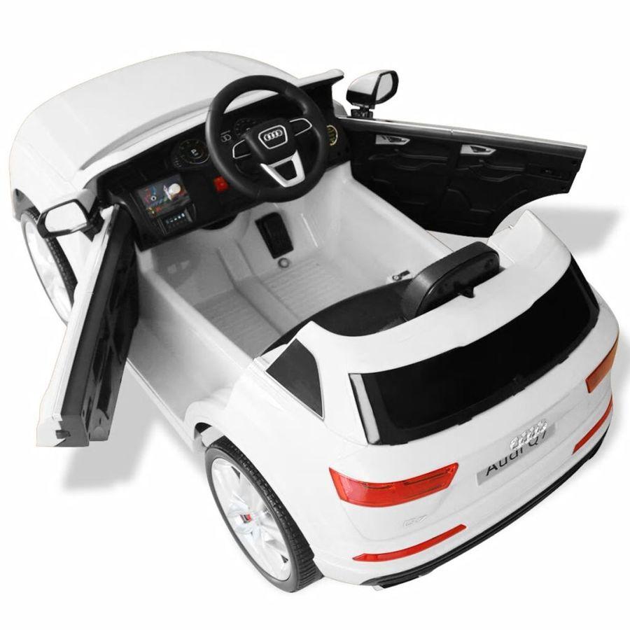 349b957eff7 vidaXL vidaXLi elektriline pealeistutav auto Audi Q7 valge 6 V