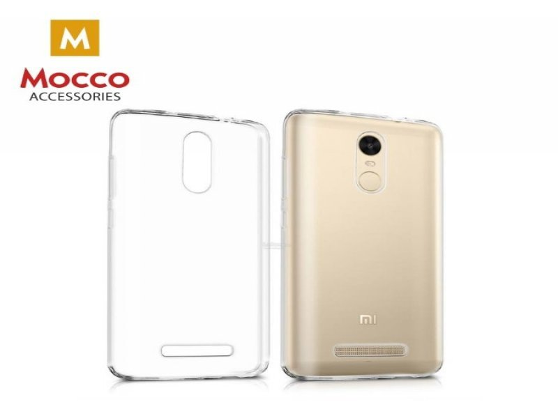 2bf90a0f6ec Mocco Ultra Back Case 0.3 mm Silicone Case for Xiaomi Redmi Note 5A  Transparent