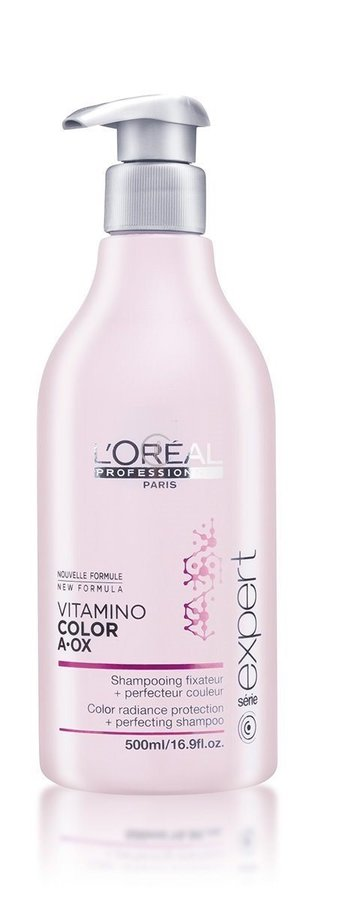 40a2a967d83 L'Oreal Professionnel Šampoon värvitud juustele Paris Serie Expert Vitamino  Color A-OX, 500 ml