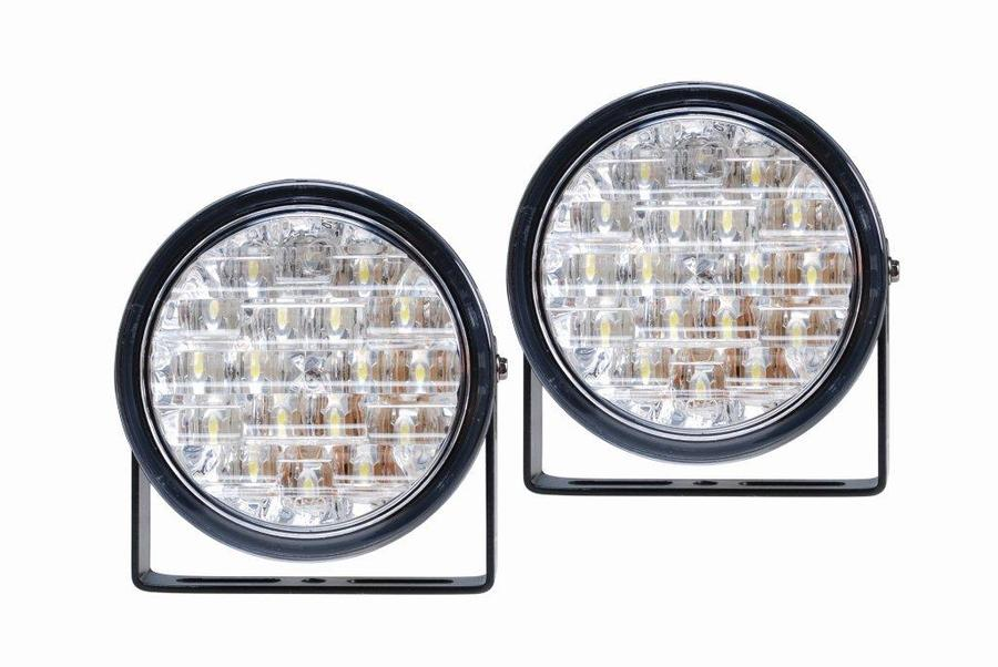 bc20841761e LED päevasõidutuled ümmargused 18led RL E4 märgistusega,12V 3W 90x36mm