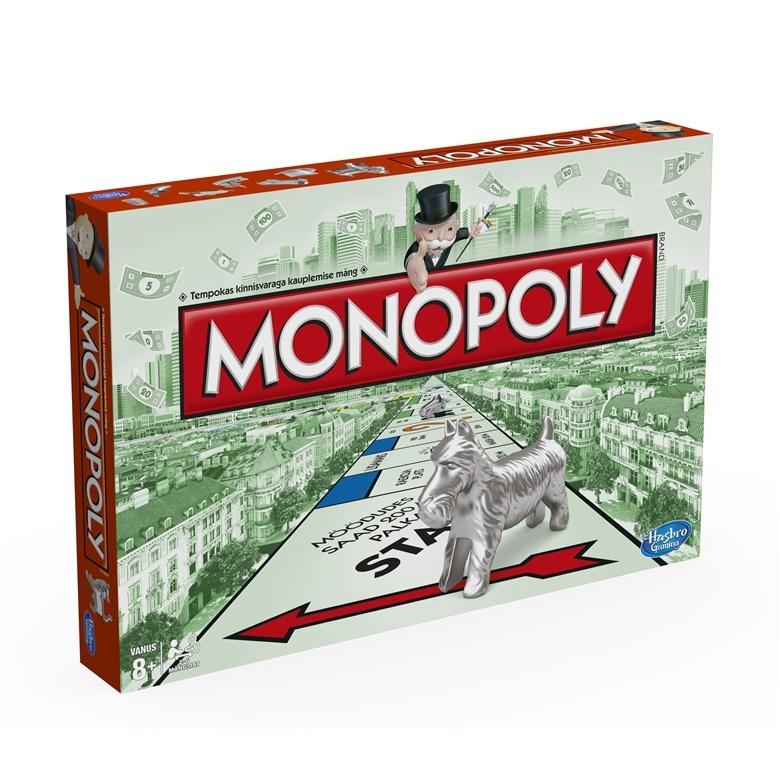 0954f3872be Hinnavaatlus - Monopoly Lauamäng Monopol 00009EST