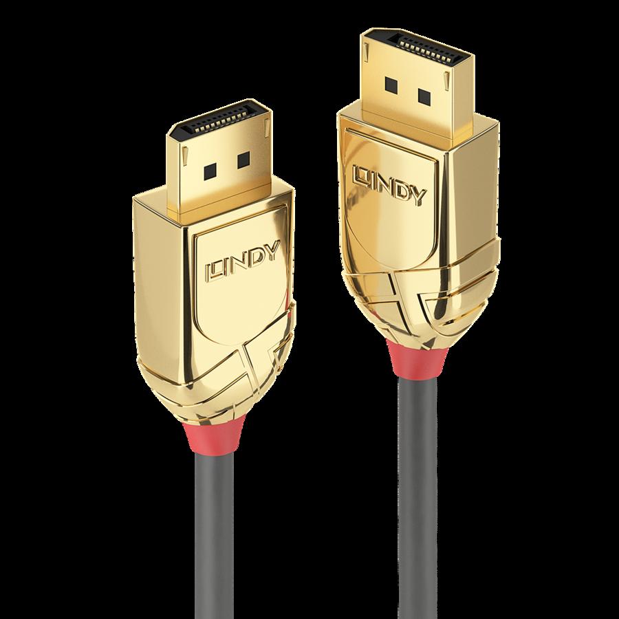 Hinnavaatlus Arvutikomponendid Varia Lisaseadmed Lindy Gold Toslink Spdif Digital Optical Cable 2m Displayport Kaabel 150m Toetab 4096x216030hz