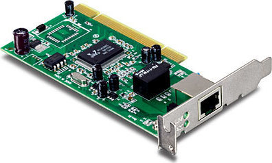 a80c3c9a890 TRENDnet Ethernet Adapter Võrgukaart: PCI Low Profile, 10/100/1000Mbps,  Wake-on-LAN