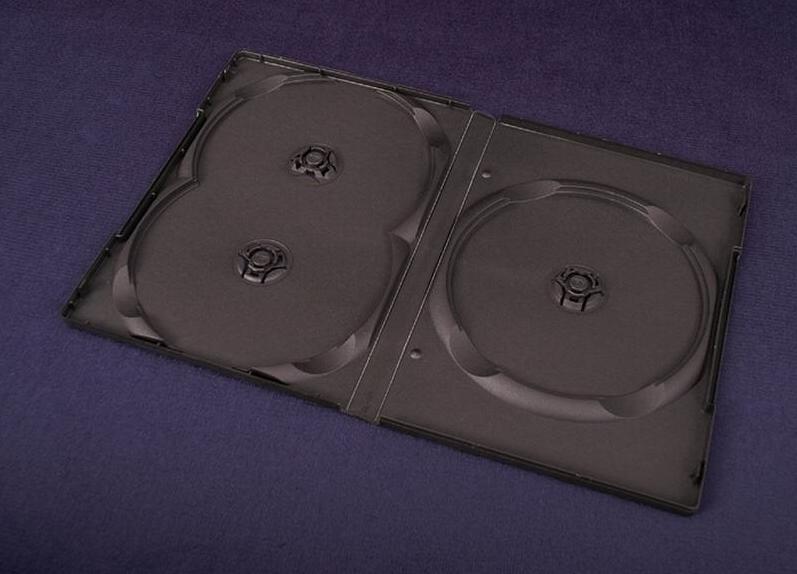 Esperanza CD/DVD karp DVD Box 3 Black 14 mm ( 100 Pcs. PACK)