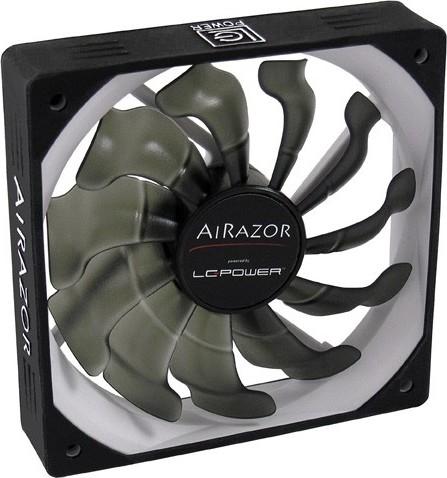 82d6bb846a6 LC-POWER Case Fan FAN AIRAZOR 120MM LC-CF-120-PRO 1200RPM 6.08-14.6db(A),  FDB, 27.6-68.4 cfm