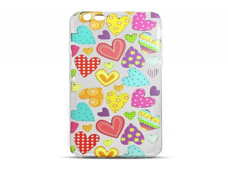 1b56a9f600b Mocco kaitseümbris Trendy Color Hearts Silicone Back Case for Apple iPhone  6 / 6S