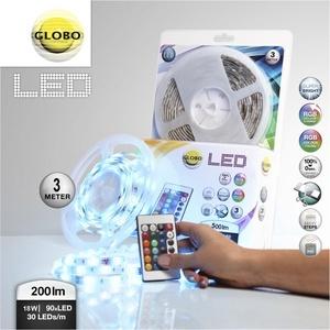 8a82edd4322 Hinnavaatlus - Globo LED riba komplekt LED90 RGB 3m