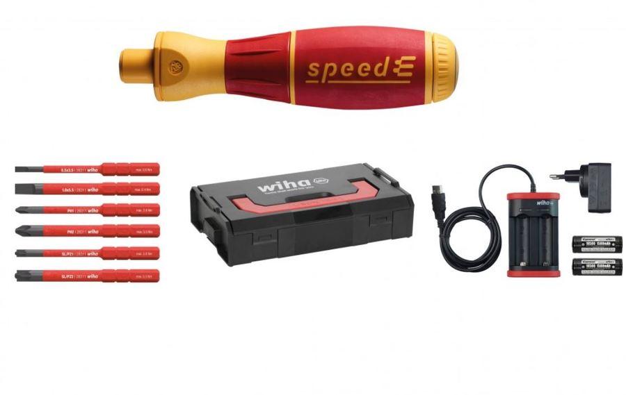bd7b29e9736 Hinnavaatlus - Wiha Elektriline kruvikeeraja speedE®, komplekt 1, 10 osa