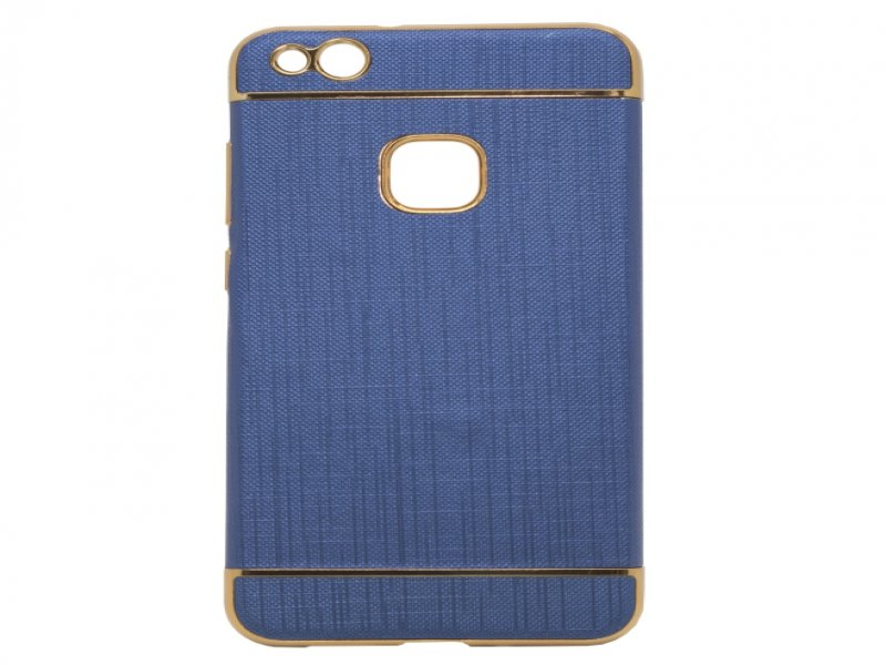 657ace351cf Mocco kaitseümbris Exclusive Crown Back Case Silicone Case With Golden  Elements for Huawei P8 / P9 Lite ( 2017 ) Dark Blue