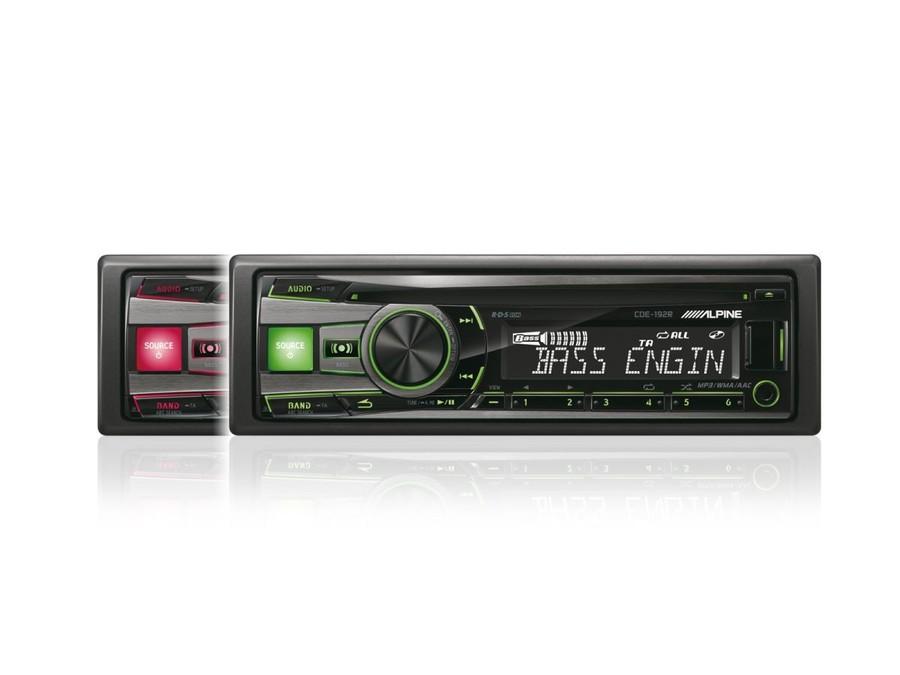 Alpine CDE-173BT Autoradio Bluetooth Front 200/W