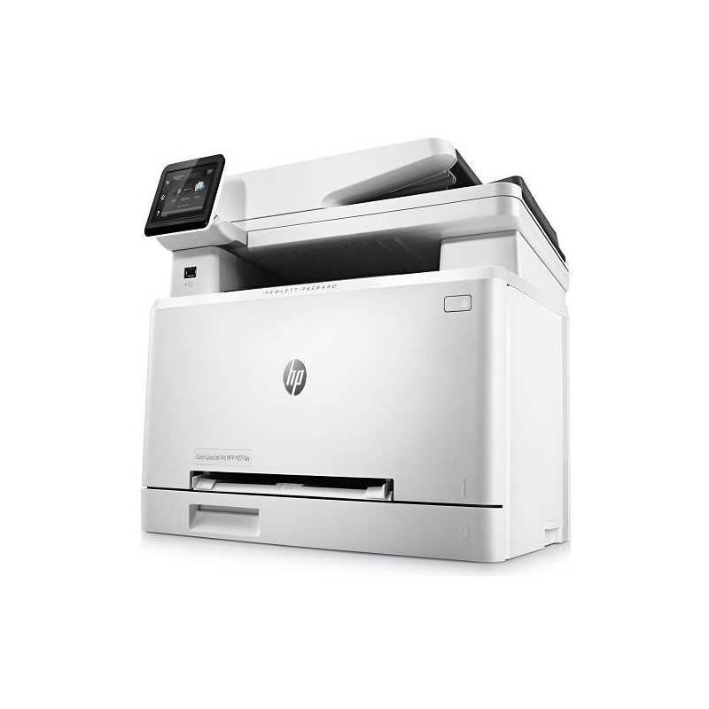 hp color laserjet pro mfp m277dw manual