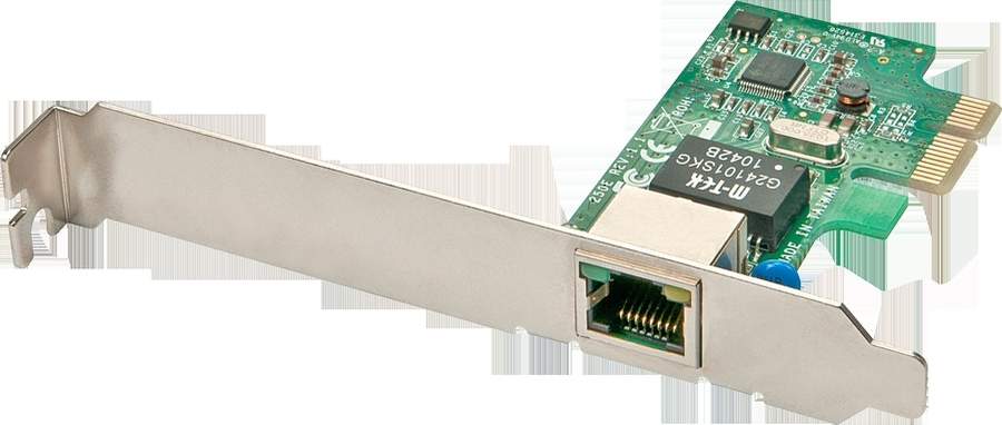 2cbe85ee2fc Lindy Võrgukaart: PCIe, 10/100/1000Mbps (+ Low Profile ka kaasas)