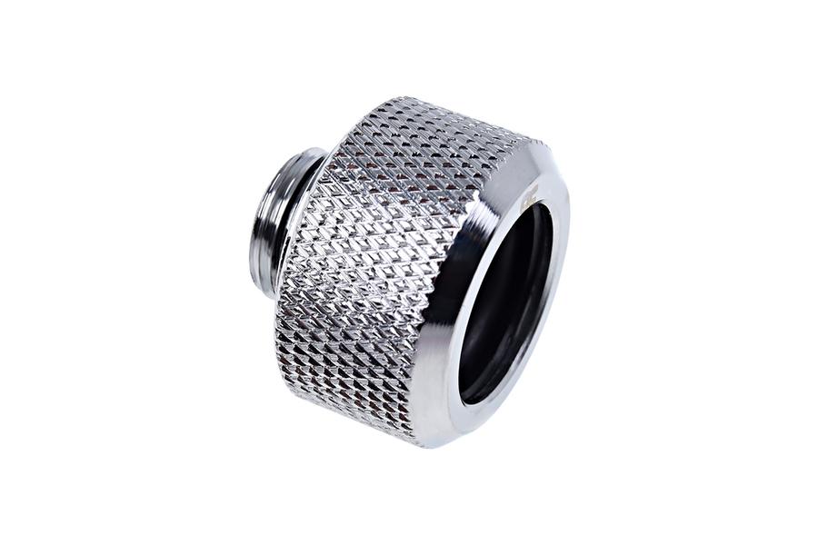 GLOSS 8 BALL H015 2 Silver Aluminum Knurled Tire Air Valve Stem Caps