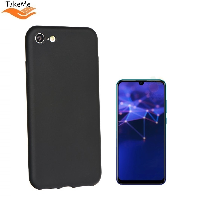 80d183adc63 Huawei TakeMe Soft feeling super slim matte back cover case for P Smart  (2019) Black