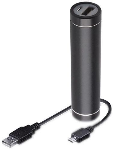 e5421097e98 FOREVER PB010 Metal Tube Power Bank 2300mAh Black
