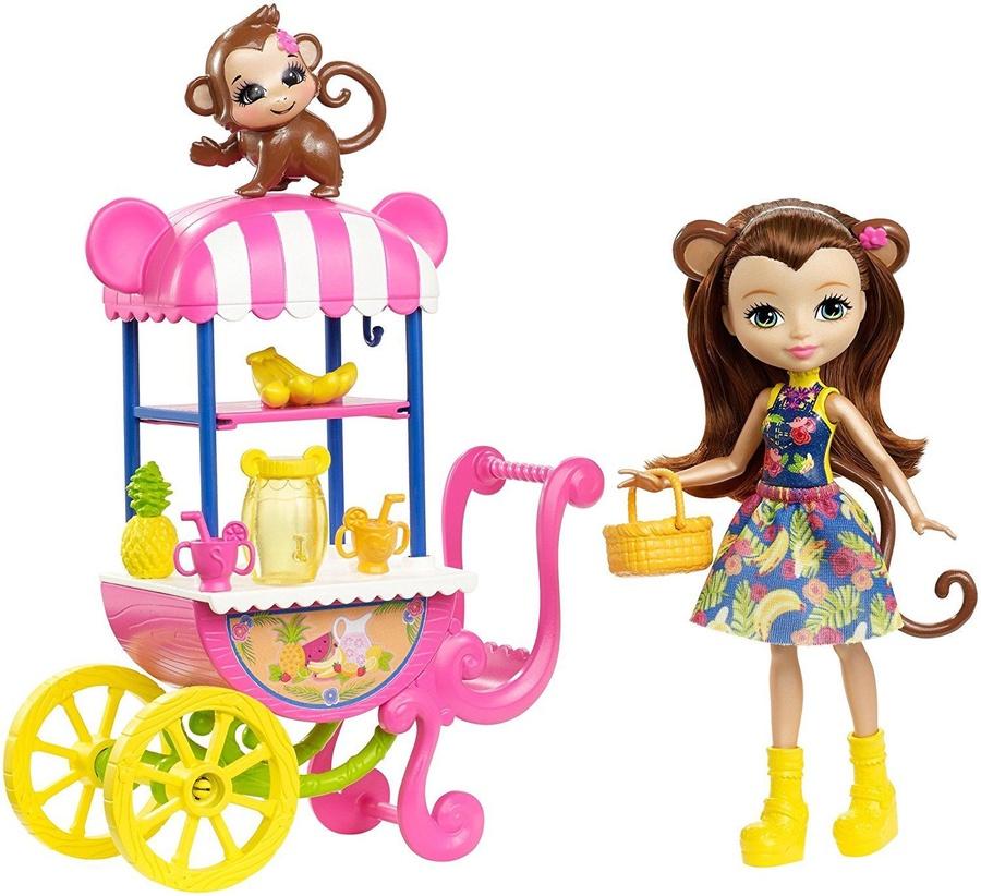 848ccabc0ce Mattel Enchantimals Fruit Cart Doll Set FCG93