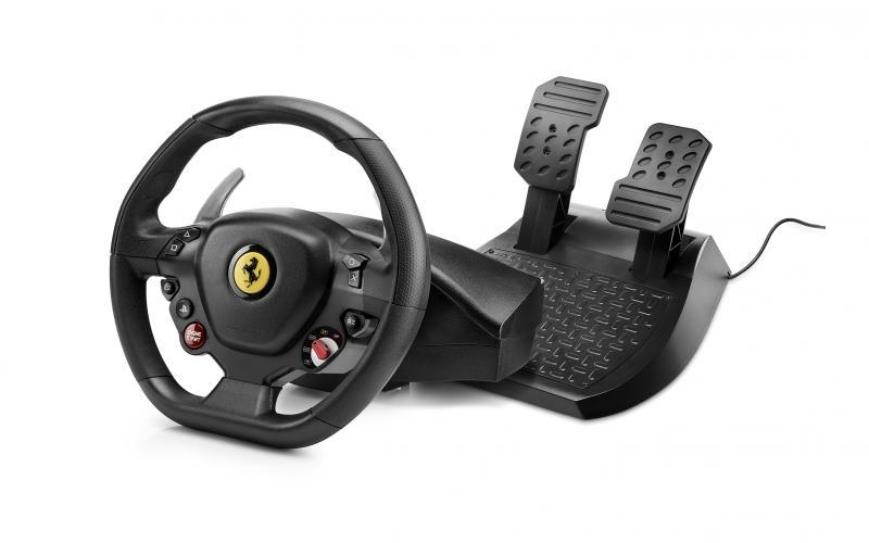 1085ff795a4 Thrustmaster T80 Ferrari 488 GTB Edition Racing Wheel for PS4