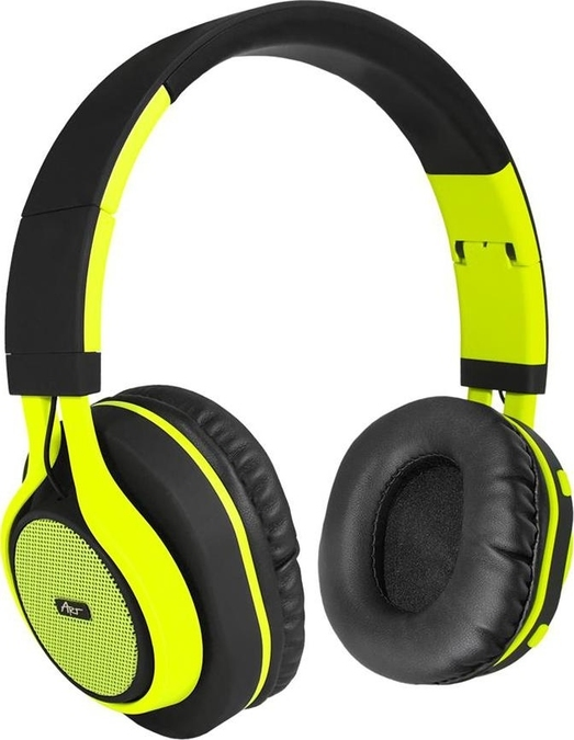 ART Bluetooth Headphones with microphone AP-B04 black lime 3b015766d1