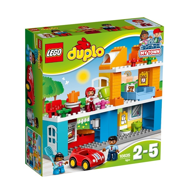 30886136e2a Hinnavaatlus - Lego Konstruktor Duplo My Town Family House 10835