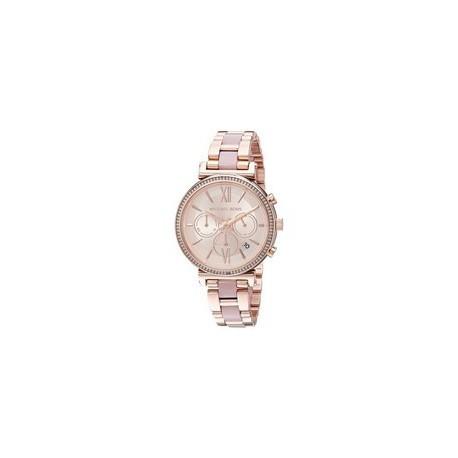 5d728ffb376 Michael Kors Sofie Chronograph Quartz Diamond Accent MK6560 Women's Watch