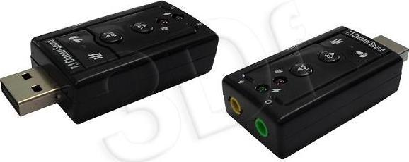 b474fda28bb SAVIO USB Sound card External Sound Card AK-01