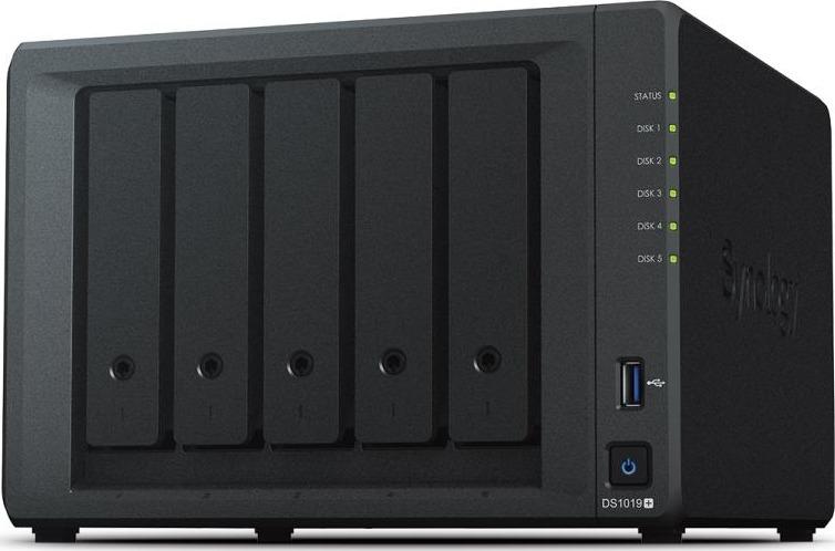8895b7e0549 Synology Network Storage Diskstation DS1019+, 8GB RAM, 2x Gb LAN