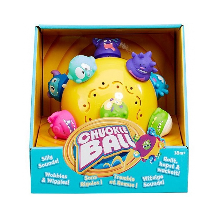 Spin Master Chuckle Ball Self Rolling and Self Bouncing Toy e8