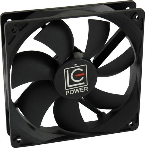 68e6c25b37e LC-POWER Case Fan FAN 120M LC-CF-120 1500 RPM 15.7 - 29.5 dB(A), 4pin,  20.15 - 50.65 cfm